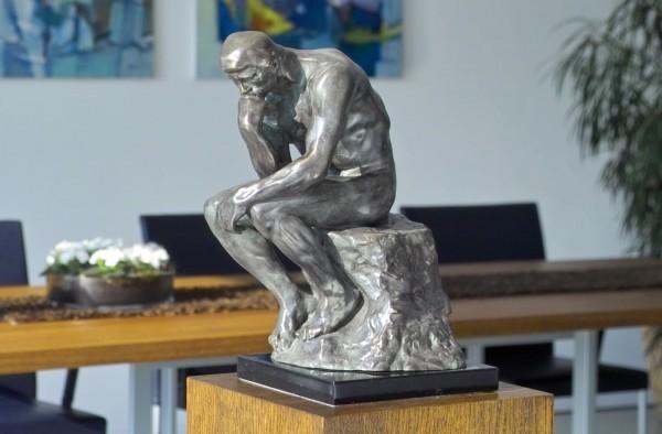 Der Denker Bronze Skulptur A. Rodin