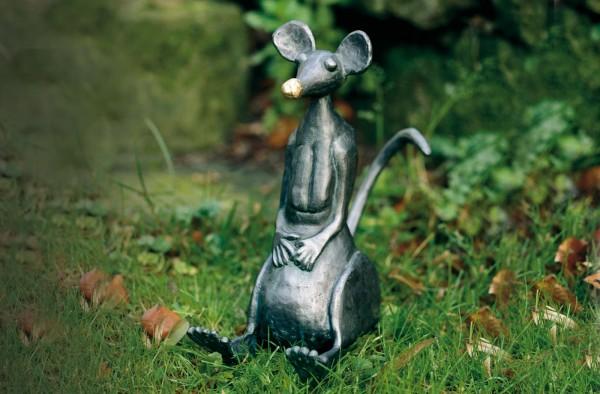 Kupfer Skulptur Maus