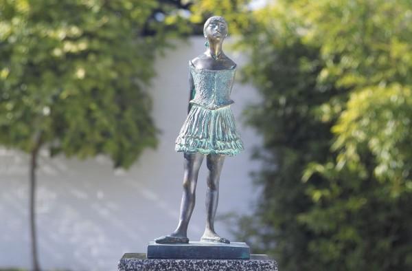 Taenzerin nach Degas Bronze Skulptur
