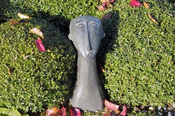 Sterngucker Bronze Skulptur D. Fairweather