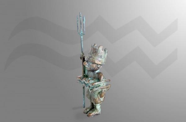 Skulptur-Wassermann-Sternkreiszeichen von E. Waehning