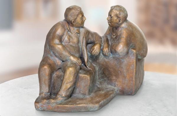 Dialog Skulptur von Friedhelm Zilly