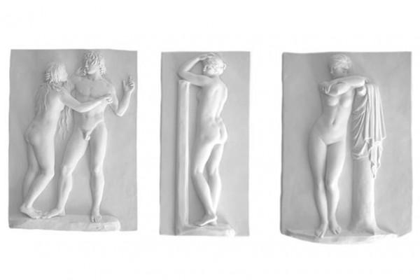 Wandreliefs Johann Gottfrie Schadow