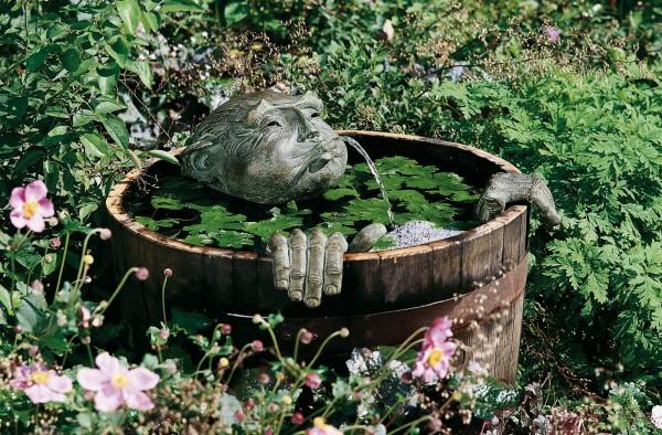 Der Schwimmer Bronze Skulptur D. Fairweather