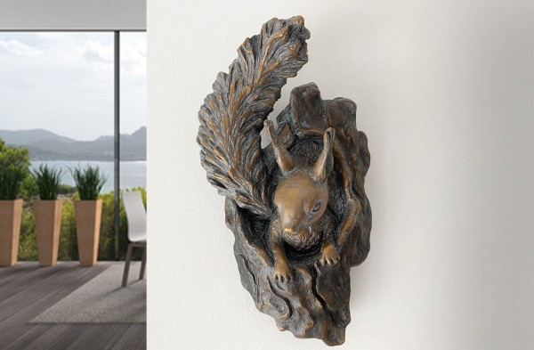 Eichhörnchen Bronze-Skulptur