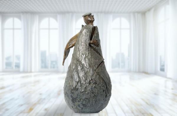 Outbreak, Bronze-Skulptur von Anouk de Groot.