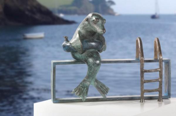 Hydrophobia Bronze Skulptur Anouk de Groot