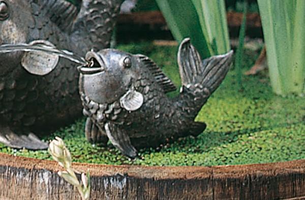 Schwimmender Fisch Bronze Skulptur