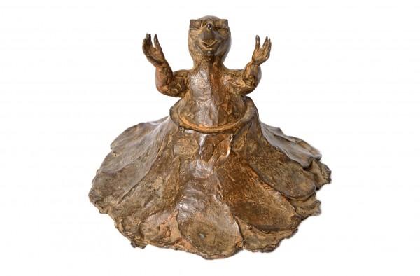 Maulwurf Bronze Skulptur von Anouk de Groot