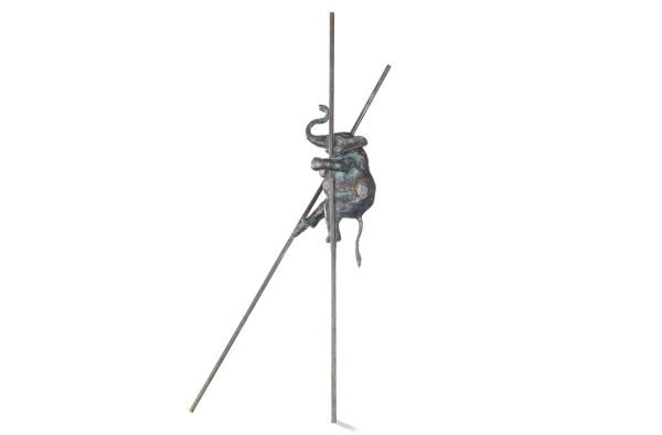 EckiFant Skulptur