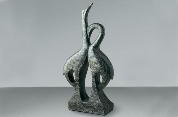 Kraniche Marmor Skulptur