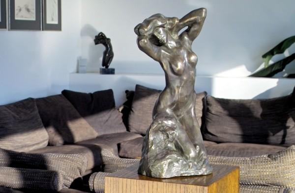 Die Badende Bronze Skulptur A. Rodin