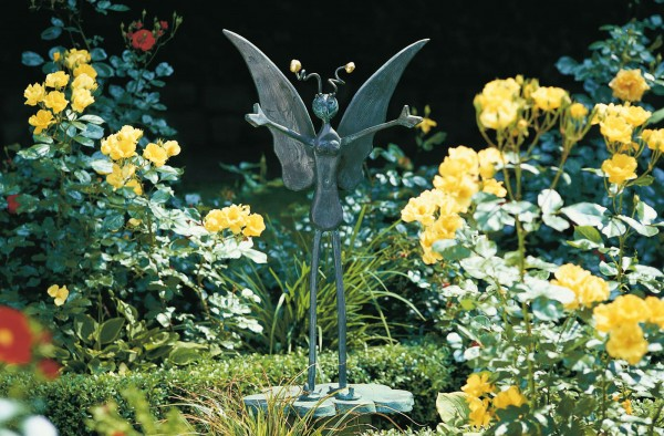Elfe Kupfer Skulptur