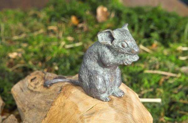 Kleimne Maus Bronze Skulptur