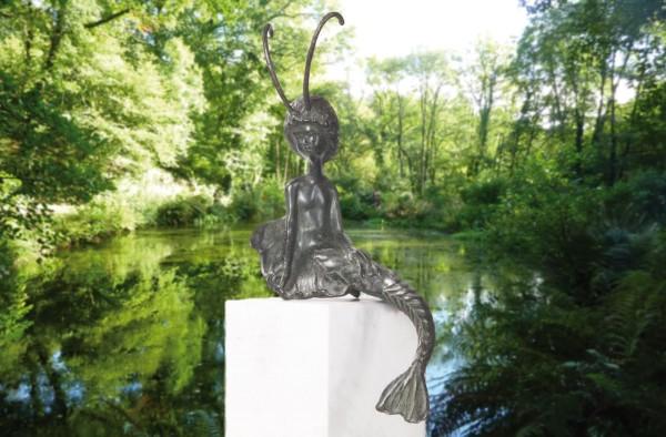 Meerjungfrau Bronze Skulptur