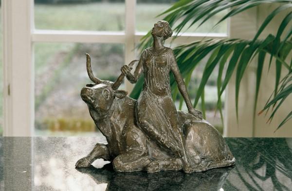 Europa Bronze Skulptur W. Klenk