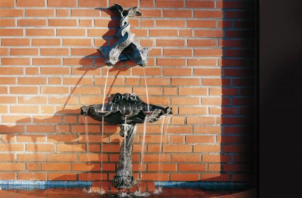 Wandwasserspeier Englischer Bleiguss
