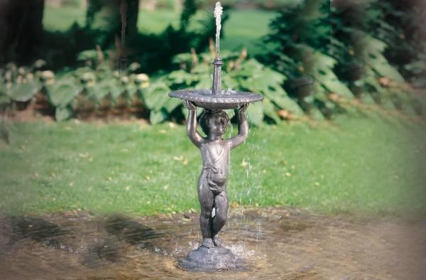 Cupido Englischer Bleigus Wasser Skulptur