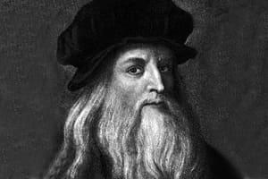 Künstler Leonardo da Vinci