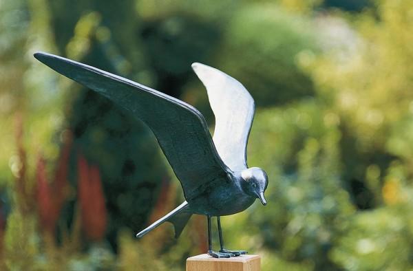 Kuestenseeschwalbe Kupfer Skulptur